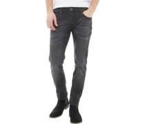 Perkin Skinny Jeans Schwarz