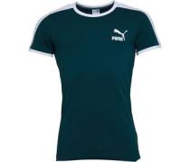 Iconic T7 T-Shirt Dunkelgrün