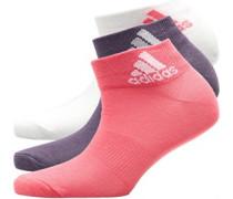 Performance Drei Pack Socken Pink