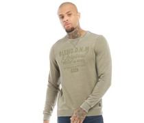 Sweatshirt Grünmeliert