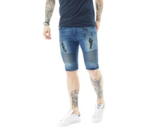 Hale Denim Shorts Verblasstes