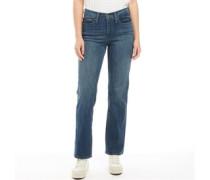 311 Slimming Jeans mit geradem Bein Verblasstes Mittel