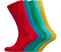 Linton Socken Mehrfarbig