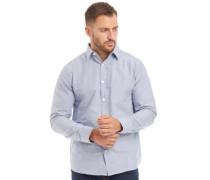 Baumwolle Oxford Hemd mit langem Arm  Chambray