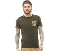 Jarvis Camo T-Shirt Khaki