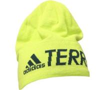 TERREX Logo Beanie Mütze Fluo Gelb