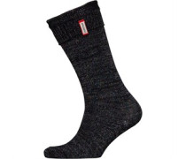 Original Striped Aurora Borealis Socken Metallic-Rosa