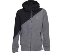 Core Colourblock Fleece Grau