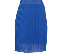 Womens Oceans Elements Pleated Skirt Aero Blue