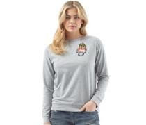 Flame Raglan Sweatshirt Grau