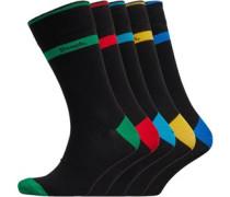 Foster Socken Schwarz