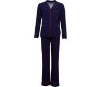 Druck Classic Pyjama Navy