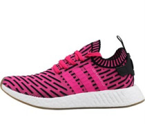 NMD_R2 Primeknit Sneakers Fluo