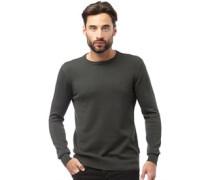 Pullover mit Rundhalsausschnitt Dunkel
