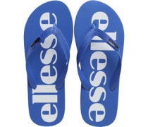 Mens Logo Flip Flops Royal