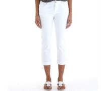 Capri Jeans Weiß
