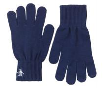 Rib Handschuhe Navy