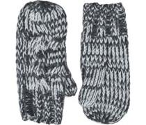 Cable Handschuhe Dunkelgrau