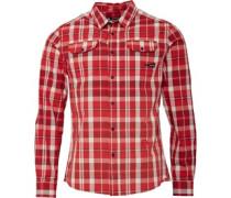 Snipper Hemd mit langem Arm Rot