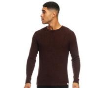 Sato 5 Multi Pullover mit Rundhalsausschnitt Rost