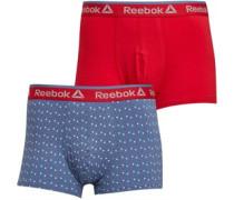Dylan Zwei Pack Boxershorts Rot