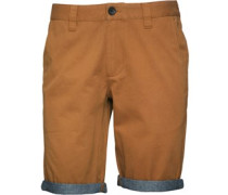 Chamy Turn Up Chino Shorts Braun