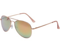 Aviator Sonnenbrille Rosa-Gold