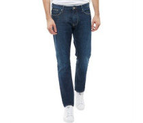 Jeans in Slim Passform Verblasstes Dunkel