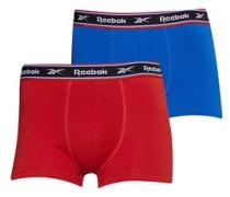 Micah Zwei Pack Boxershorts Blau