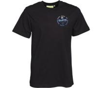 Skate Co Gradient T-Shirt Schwarz
