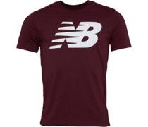 Logo Graphic T-Shirt Burgunder