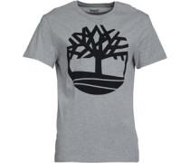 Large Logo T-Shirt Graumeliert