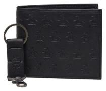 Schlüsselring und Brieftasche