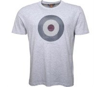 Karo Target T-Shirt Hellmeliert