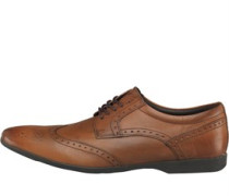 Garland Brogue Schuhe Waxy Tan