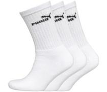 Crew Socken Weiß