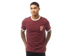 Bliss T-Shirt Burgunderrot