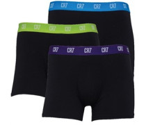 Mens Three Pack Trunks Black/Black/Black