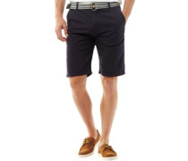 Baumwolle Shorts Navy