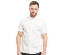 Hemd mit kurzem Arm Weiß