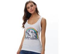 Womens Monica Vest White