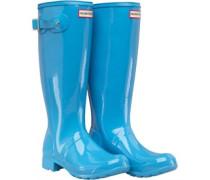 Original Womens Tour Gloss Wellington Boots Forget Me Not