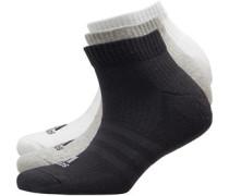 3-Stripes Drei Pack Socken Schwarz