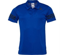 Mens 3 Stripe Climacool Polo Collegiate Royal