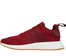 NMD_R2 Sneakers Dunkelrot