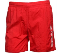 Scope 16 Badeshorts Rot