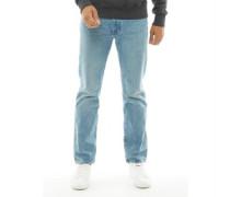 502 Jeans mit zulaufendem Bein gebleicht