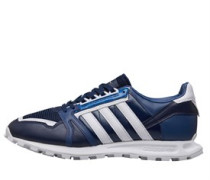 x White Mountaineering Racing 1 Sneakers Dunkelnavy
