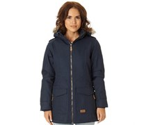 Everyday Insulated Herringbone Performance Jacke Navy