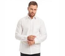 Baumwolle Oxford Hemd mit langem Arm